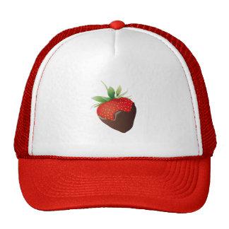 Chocolate Strawberry Hat