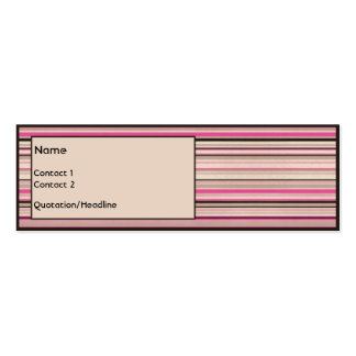 Chocolate Strawberry Pack Of Skinny Business Cards
