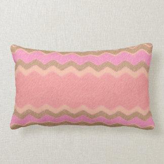 Chocolate,Strawberry & Vanilla - Yum! Lumbar Cushion