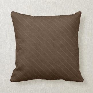 Chocolate Stripe American MOJO Pillow Cushions