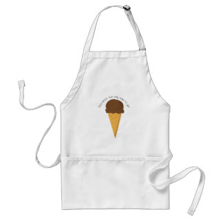 Chocolate The Only Way To Go! Apron