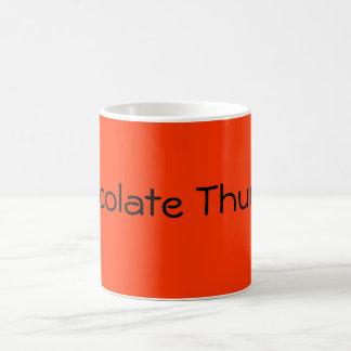 Chocolate Thunder Basic White Mug