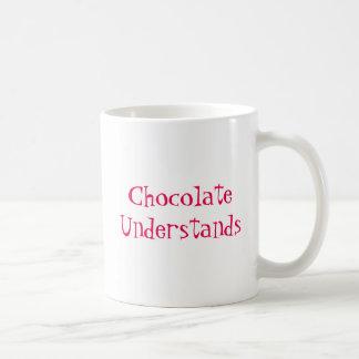 Chocolate Understands. Coffee Mug