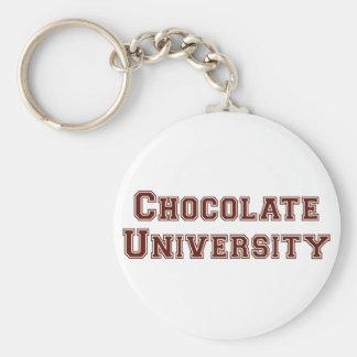 Chocolate University Keychain