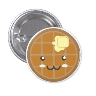 Chocolate Waffle Pin