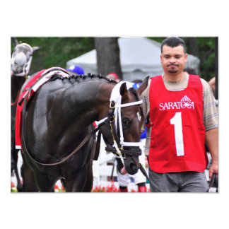 Chocolate Wildcat in the 100th Sanford Stakes Photographic Print