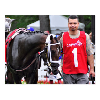 Chocolate Wildcat in the 100th Sanford Stakes Postcard