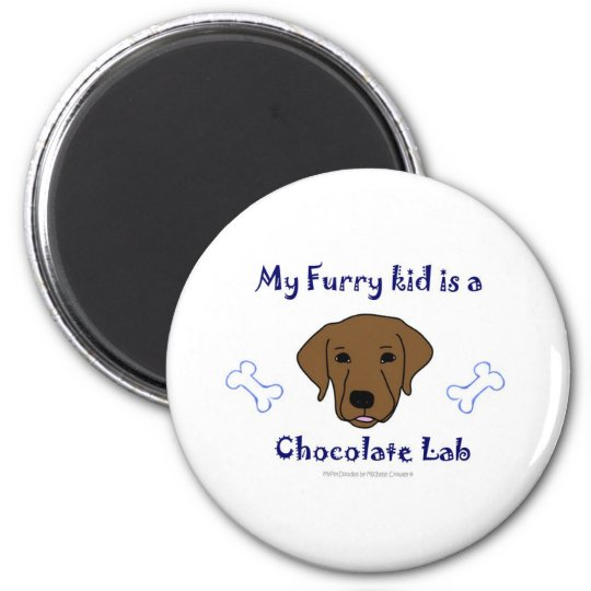 ChocolateLab Magnet