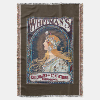 Chocolates and Confections Throw Blanket