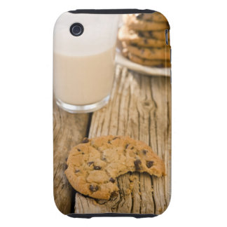 chocolte chip cookies iPhone 3 tough cover