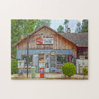 Choctaw Bluff general store Alabama. Jigsaw Puzzle