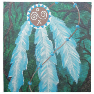 Choctaw Roots Native American Napkin