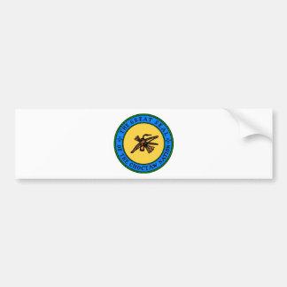 Choctaw Seal Bumper Sticker