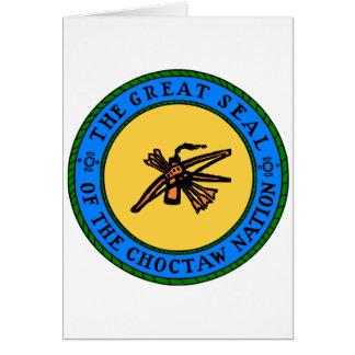 Choctaw Seal Card