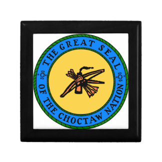 Choctaw Seal Gift Box