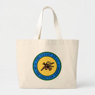 Choctaw Seal Large Tote Bag