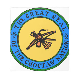 Choctaw Seal Notepad