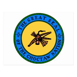 Choctaw Seal Postcard