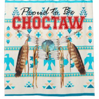 Choctaw Thunderbird Shower Curtain