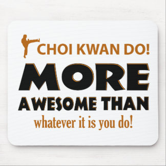 CHOI KWAN DO! DESIGN MOUSE PAD