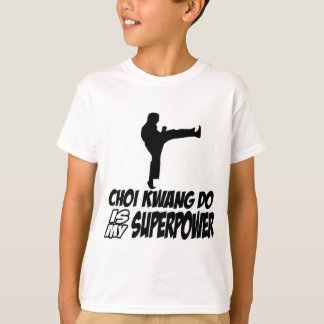 Choi kwang do martial arts designs T-Shirt