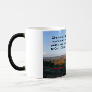 Choices made in Christ 11 Oz Magic Heat Color-Changing Coffee Mug