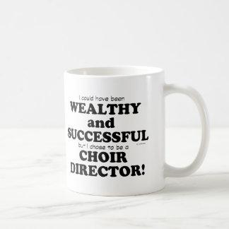 Choir Director Wealthy & Successful Coffee Mug