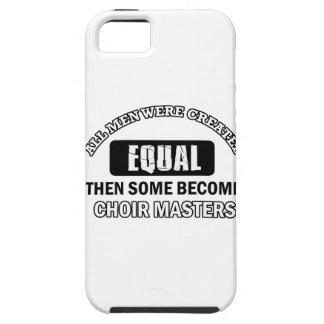 Choir master Job designs iPhone 5 Cover