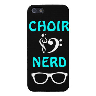 Choir Nerd iPhone 5/5S Cover
