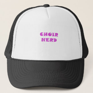 Choir Nerd Trucker Hat