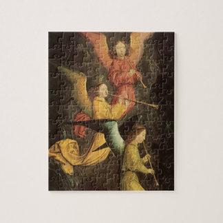 Choir of Angels by Simon Marmion, Renaissance Art Jigsaw Puzzle