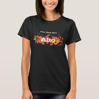 Choir T-shirt for sopranos, altos, tenors, bases