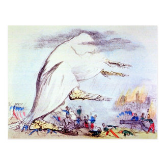 Cholera Tramples the victors & the vanquished card