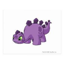 Chomby Purple postcards