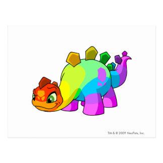 Chomby Rainbow Postcard