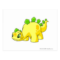 Chomby Yellow postcards