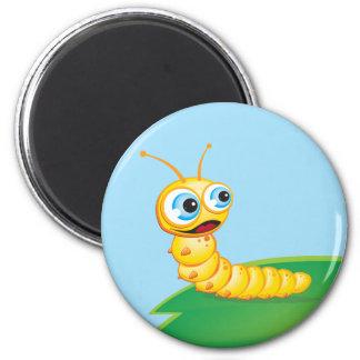 Chomp the Grub Fridge Magnets