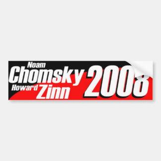 Chomsky\Zinn 2008 Bumper Sticker