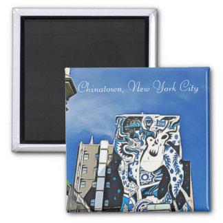 Chonatown New York Souvenir Magnet