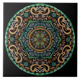 Chons Da Mandala Ceramic Tile