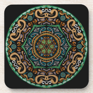 Chons Da Mandala (Customizable Background) Coaster