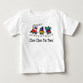 Choo Choo I'm 2 Train T-shirt