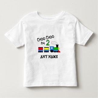 Choo Choo I'm 2!  With TRAIN Shirt
