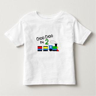 Choo Choo I'm 2!  With TRAIN Shirts