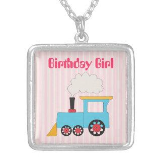 Choo Choo Train Birthday Necklace