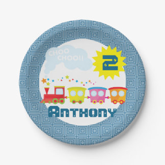 Choo Choo Train Birthday Party Plates