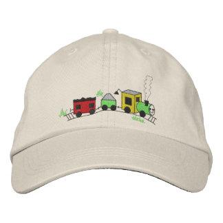 Choo Choo Train Embroidered Hats
