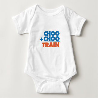 Choo Choo Train Math Baby Bodysuit