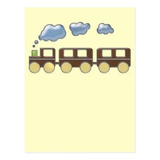 Choo Choo Train Post Card