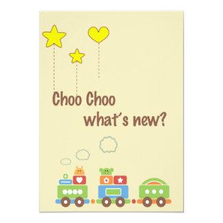 Choo Choo What's New? Pregnancy Photo Announcement